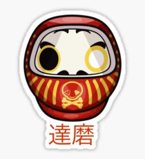 mikoto's Daruma Doll Sticker