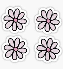 4 Flowers Sticker