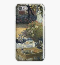 Claude Monet - The Luncheon 1 iPhone Case/Skin