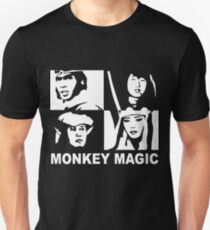 Monkey Magic  ***Now with added text Unisex T-Shirt