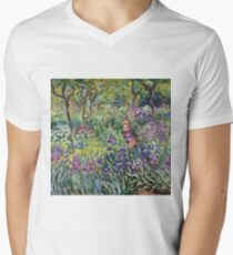 Claude Monet - The Artist S Garden In Giverny 1900 T-Shirt