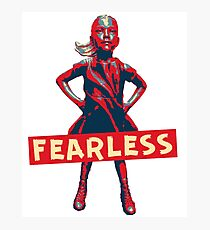 Fearless Photographic Print