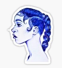 FKA - Blue Biro Pen Sticker