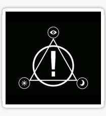 death of a bachelor tour logo Sticker