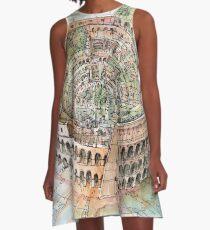 The Colosseo City A-Line Dress