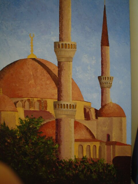 The mosque by mona