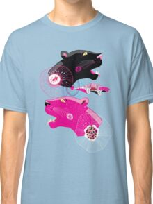 Fashionable pattern with panther heads Classic T-Shirt
