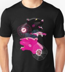 Fashionable pattern with panther heads T-Shirt