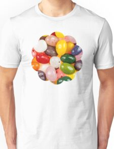 Cool colorful sweet Easter Jelly Beans Candy Unisex T-Shirt