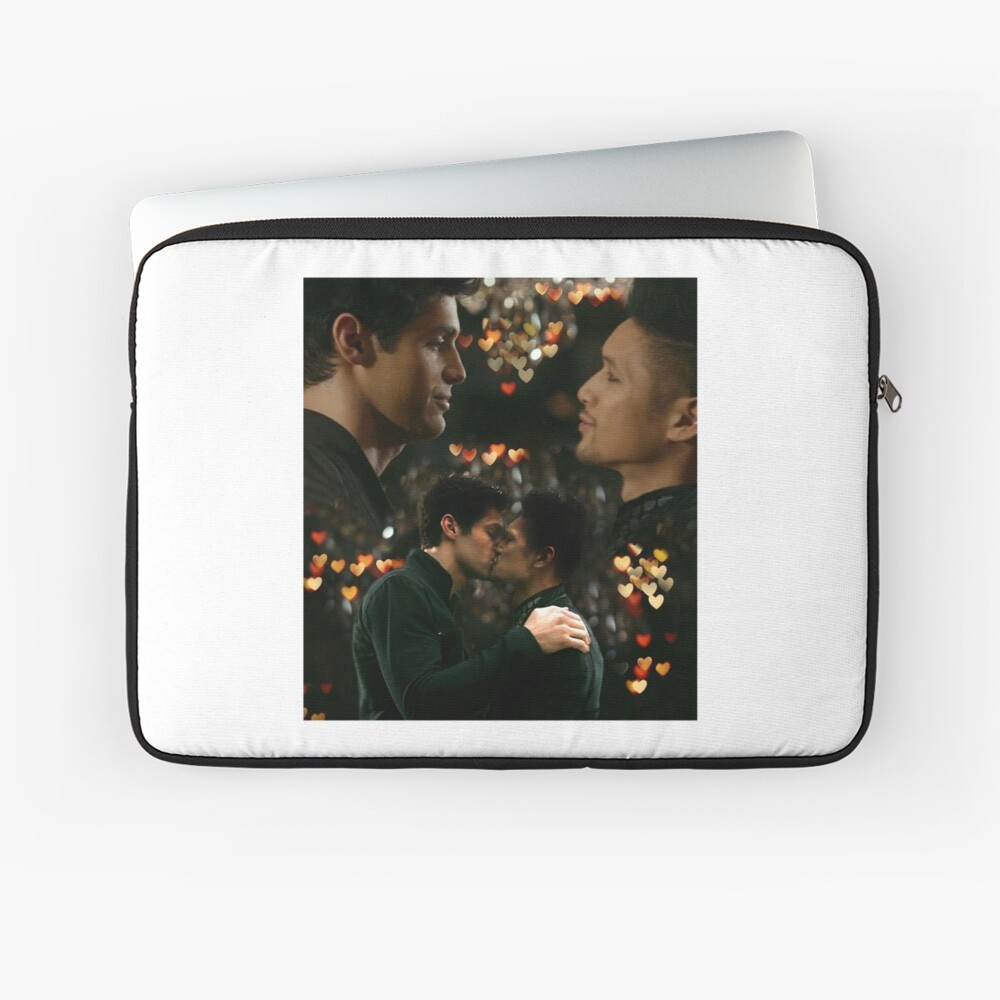 Malec Kiss Laptop Sleeve