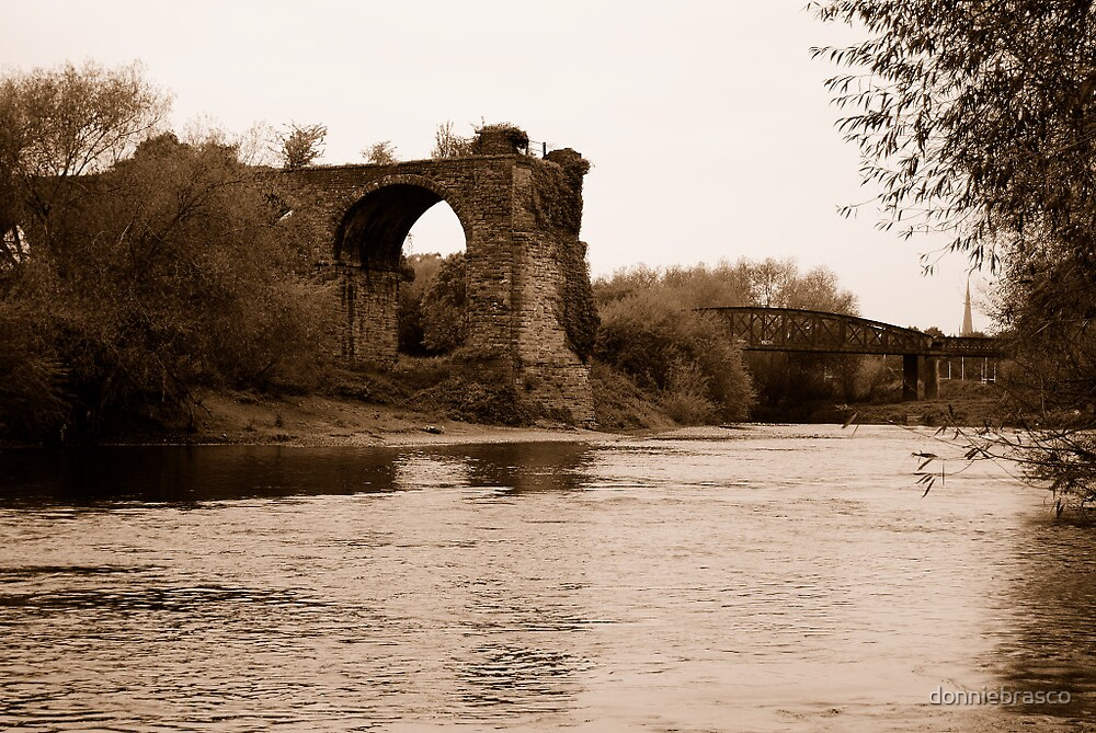 Iron Bridge,Monmouth by donniebrasco