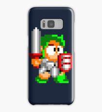 Wonder boy Pixel art Samsung Galaxy Case/Skin
