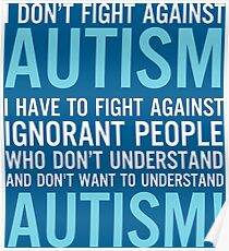 Fight for Autism Poster
