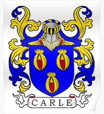 Carle Coat of Arms I Poster