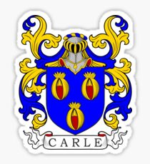 Carle Coat of Arms I Sticker