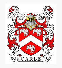 Carle Coat of Arms II Photographic Print