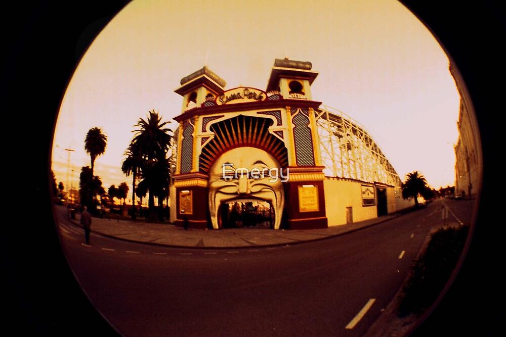Warped - Luna Park by Emergy