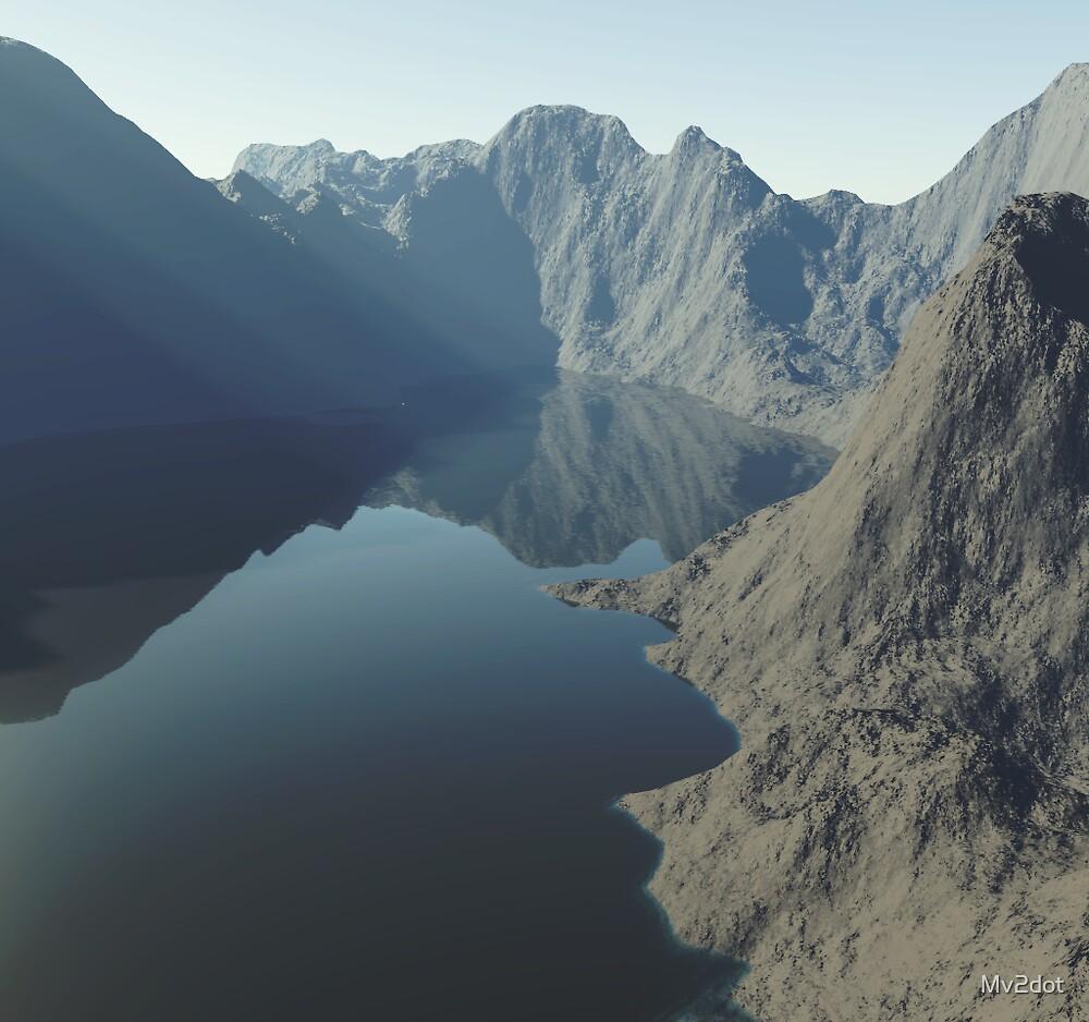 The lost lake. by Mv2dot
