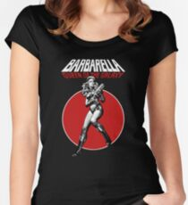 Barbarella - Queen of the Galaxy Women's Fitted Scoop T-Shirt
