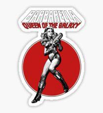 Barbarella - Queen of the Galaxy Sticker