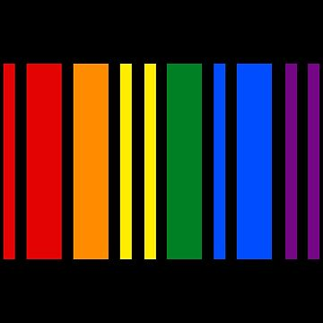 Código de Barras LGBT Rainbow - Pride DNA - Being Gay está en mi ADN de LGBTIQ