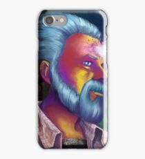 Phillip K. Dick Portrait iPhone Case/Skin
