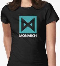 Monarch logo - inspired by Kong Womens Fitted T-Shirt
