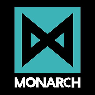 Monarch logo - inspired by Kong by hopography