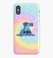 colorfull Stitch iPhone X Case