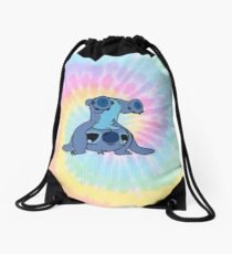 colorfull Stitch Drawstring Bag