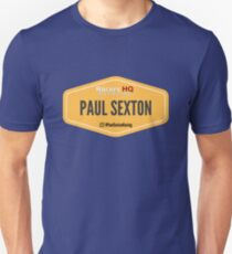 Paul Sexton - Sponsored Unisex T-Shirt