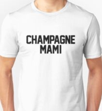 Champagne Mami [White] Slim Fit T-Shirt
