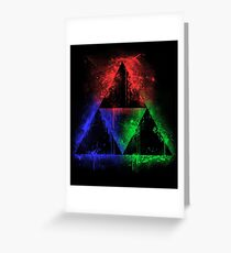 Colours Of The Force Greeting Card
