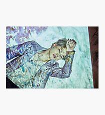 JIMING WINGS BTS Photographic Print