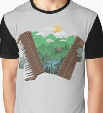 Accordionscape Graphic T-Shirt