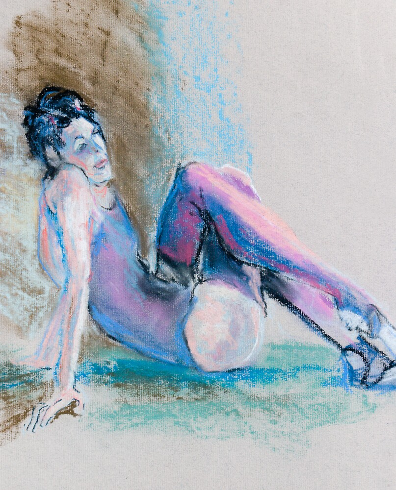 Seated Dancer by Linda J Armstrong