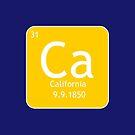 Kalifornien-Element von JCDesignsUK