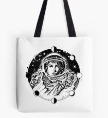 Woman astronaut  Tote Bag