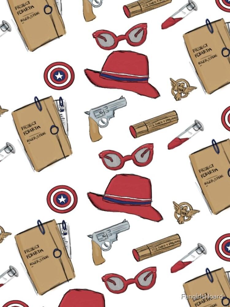 Agente Carter en todo el material impreso: regular de FangirlsHoard