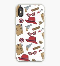 Agent Carter ganz normal gedruckt iPhone-Hülle & Cover