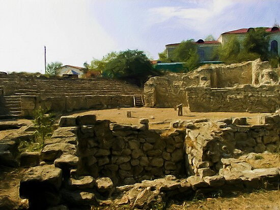 Chersonesus of Tauris4 The Theater by Jon Ayres