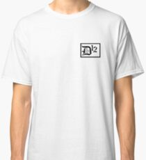D12 Silkscreen printed title Classic T-Shirt
