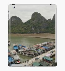 Vietnam - Ha Long Bay - UNESCO - traffic near the caves iPad Case/Skin