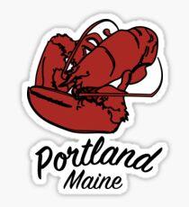Portland Lobster Sticker