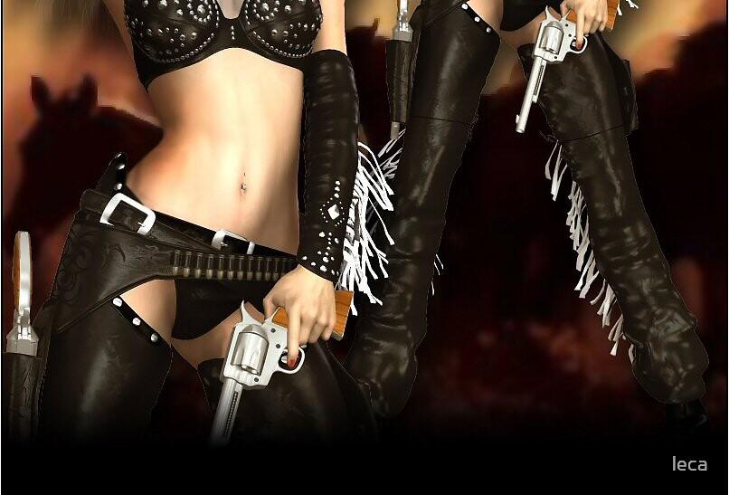 Guns galore by leca