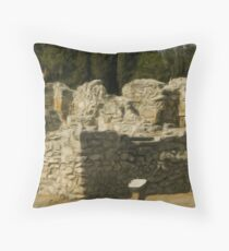 Chersonesus of Tauris5  Taking a Seat in the Theater Throw Pillow