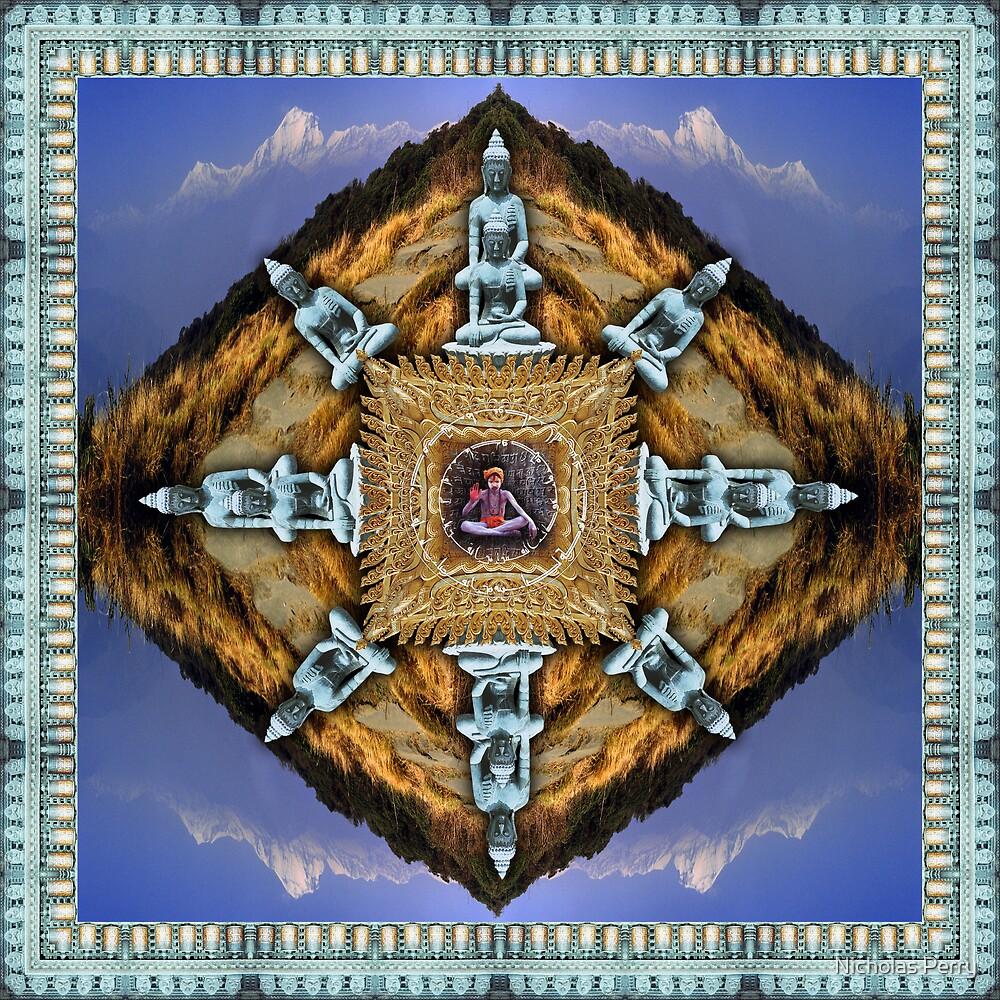 Photographic mandala by Nicholas Perry