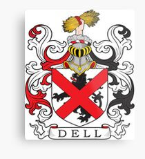 Dell Coat of Arms Coat of Arms Metal Print