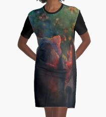 Look! Graphic T-Shirt Dress