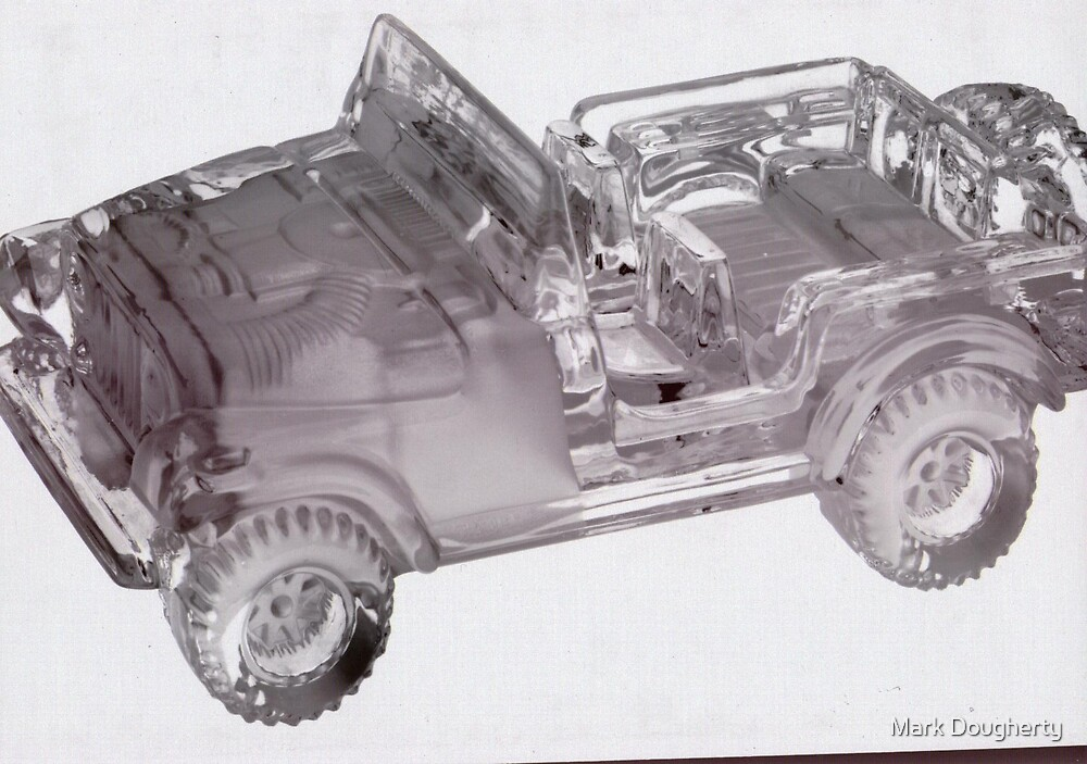 inverted glass jeep by Mark Dougherty